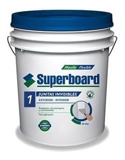 masilla para fibrocemento superboard junta invisible x 15kg