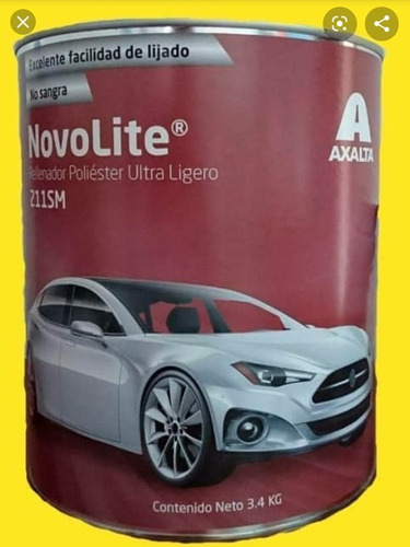 masilla plastica automotriz novolite de axalta