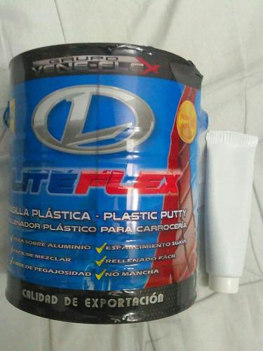 masilla plastica liteflex con catalizador galon