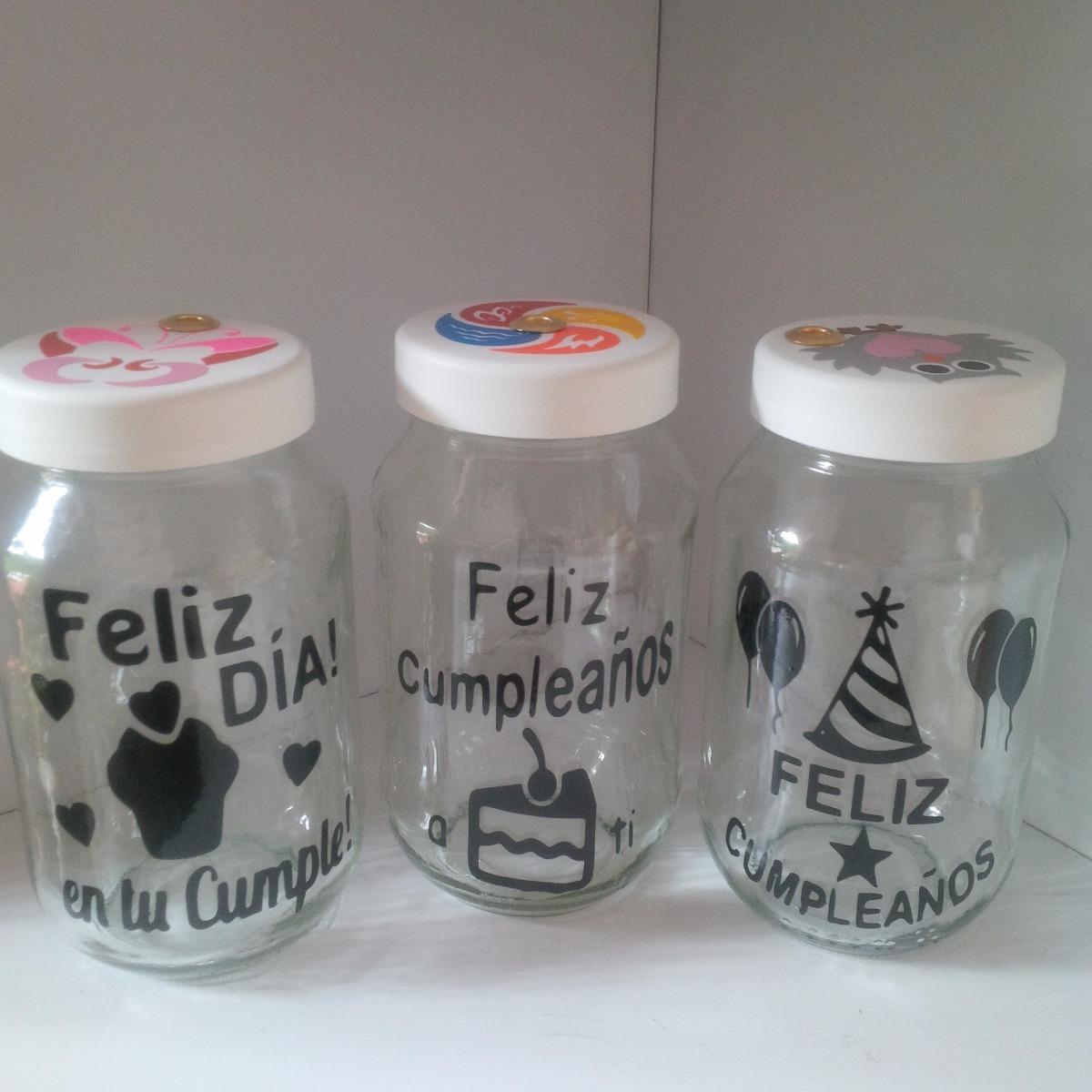 Arreglos con tarros de mayonesa mason jar frascos vasos - Decorar vasos plasticos para cumpleanos ...