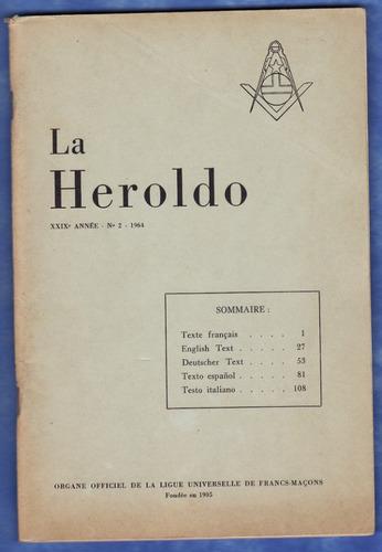 mason - la heroldo nº 2 -1964