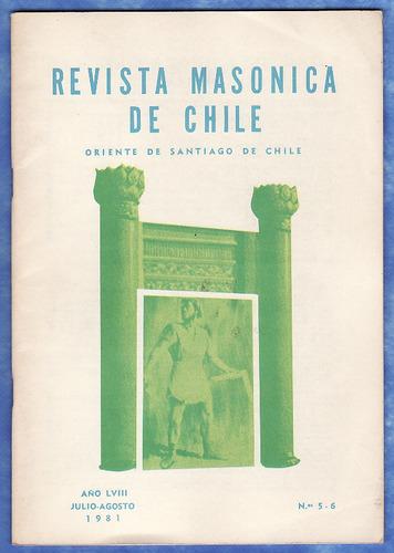mason - revista masonica de chile - julio - agosto 1981
