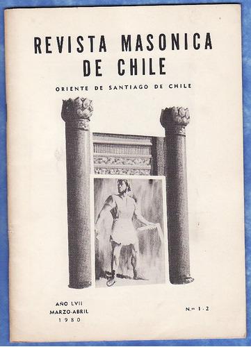 mason - revista masonica de chile - marzo - abril 1980