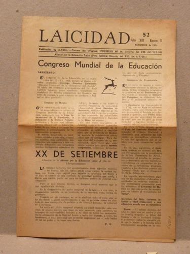 masoneria. laicidad. año xiii, 1964