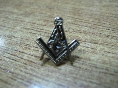 masoneria - pins de solapa en metal - masones