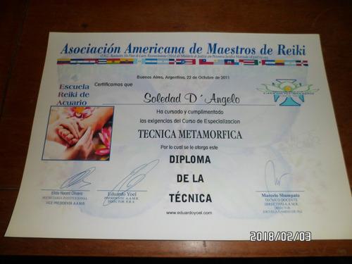 masoterapeuta y auxiliar de kinesiologia