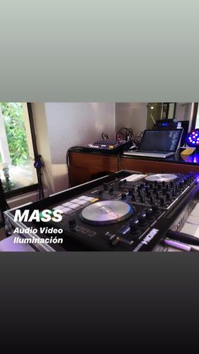 mass audio video iluminación eventos