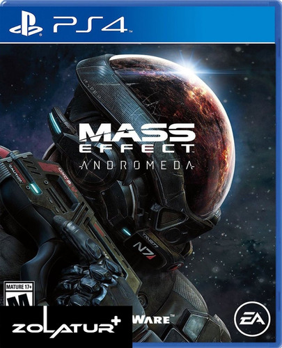 mass effect andromeda | playstation 4 / físico