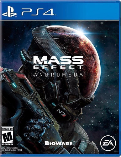 mass effect andromeda ps4 en stock nuevo sellado