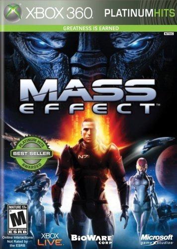 mass effect platinum hits + contenido - xbox 360