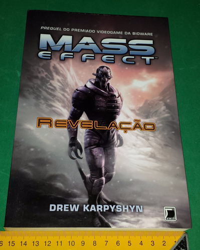 mass effect revelação - drew karpyshyn - em português