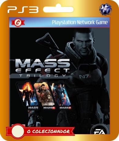 mass effect trilogy em promoção! ps3