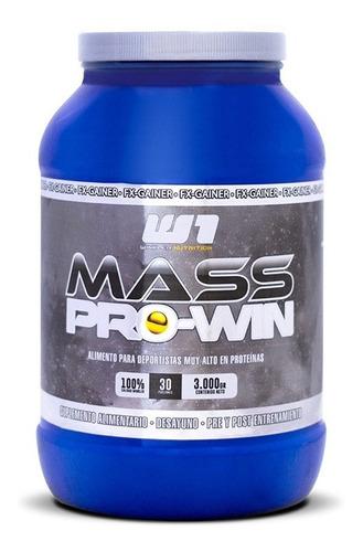 mass pro win ganador de peso 3 kgs. 30 serv.