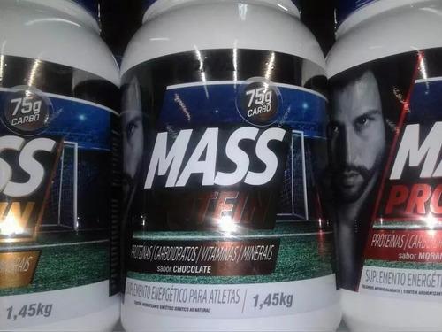 mass way protein 1,5kg edition fabio varios sabores oferta