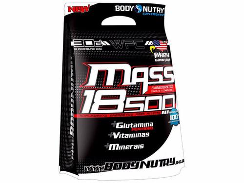 massa 18500 anticatabolic - 3,0 kg - body nutry - morango