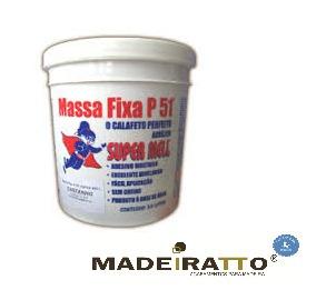 massa acrílica p/ madeira p51 - castanho  - 0,250kg