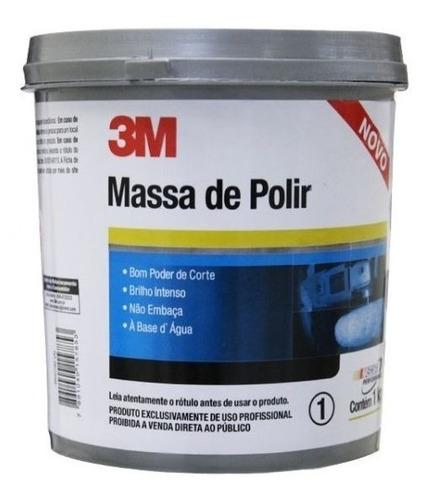 massa de polir 1kg - 3m o melhor preço