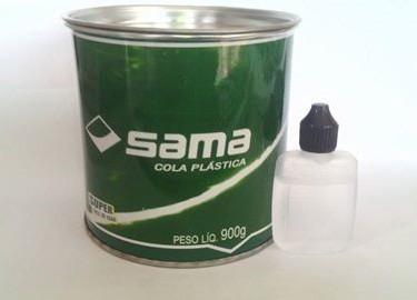 massa plástica automotiva cinza 900gr c/ catalisador 5 latas