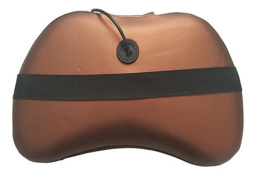 massageador elétrico bivolt relaxante casa  veicular tm 6012