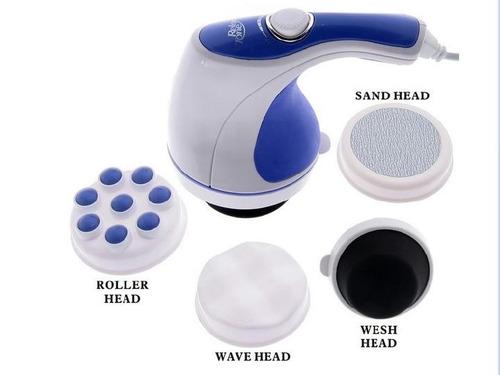 massageador orbital relax spin tone 110v 4 discos lixa etc..