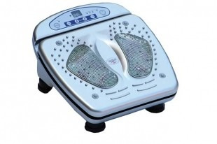 massageador pés silver fisiomedic original