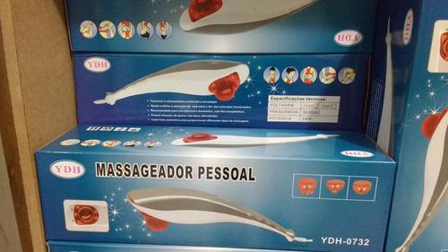 massageador pessoal tubarão com infravermelho ydh 0732 5 pcs
