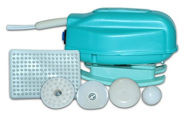 massageador th infravermelho longo 110v + gel tubarão 200g