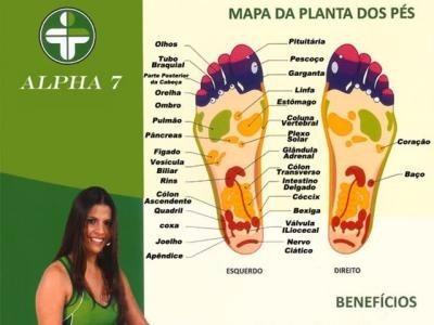 massageador w fisio alpha 7 infravermelho profissional