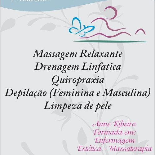 massagem e depilação unissex (19)99535-3694