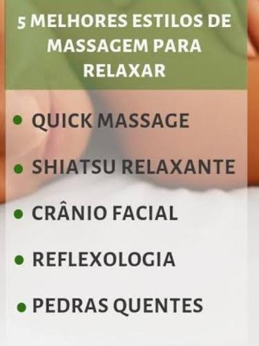massagem relaxante, drenagem linfática e estética em geral