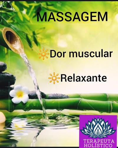 massagem relaxante pra dores musculares e stress.