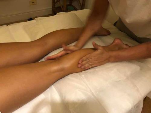 massagem shiatsu / relaxante / deep tissue / reflexo