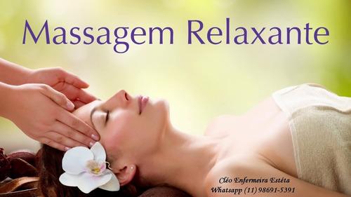 massagem terapêutica domiciliar - by dra cleu