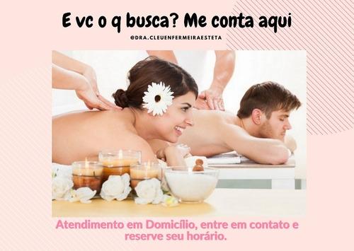 massagem terapêutica e procedimentos estéticos em domicílio
