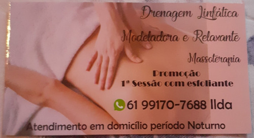 massagens domicílio