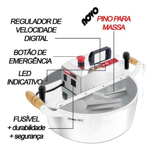masseira misturela panela eletrica mexer salgados e massas