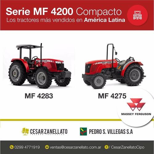 massey ferguson 4275/4 4x4 compacto