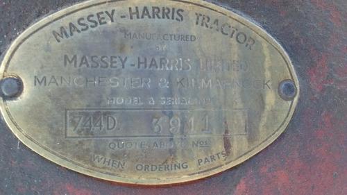 massey harris 744
