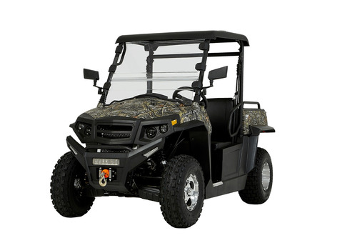 massimo utv gunner 250 2 plazas gama hisun para adultos 4x2