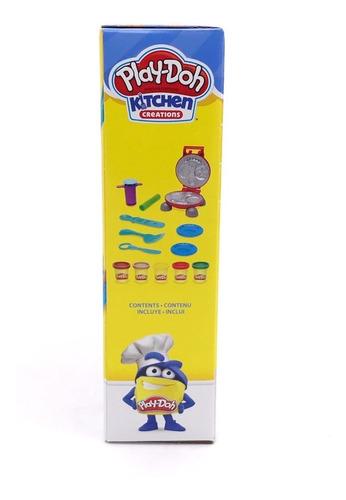 massinha de modelar kit festa do hamburguer play doh hasbro