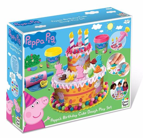 massinha peppa pig importada bolo de aniversário fretegratis