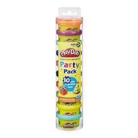 Massinha Play Doh Party Pack 10 Mini Potes - Hasbro
