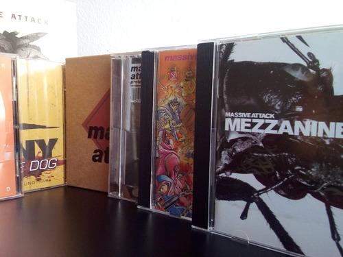 massive attack - discografia  (7cds + ed. esp de 2cd+dvd)