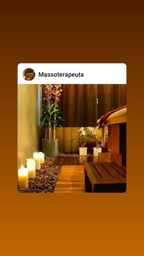 massoterapeuta..massagens relaxantes, dores , tan
