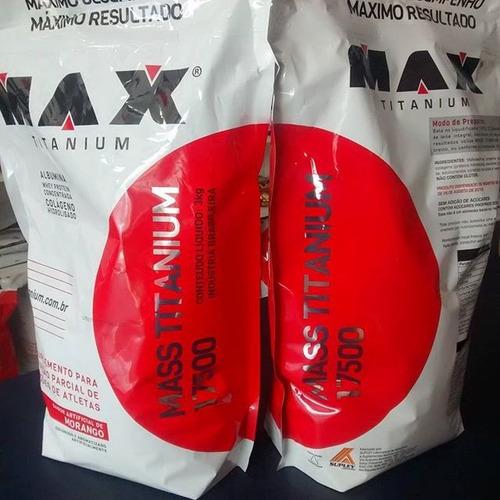 masstitanium 17500 3kg maxtitanium - chocolate hipercalorico
