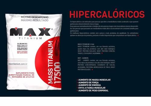 masstitanium 17500 3kg maxtitanium - vitamina de frutas
