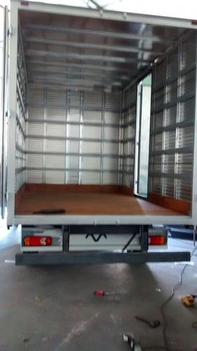 master 0km - baú de alumínio a pronta entrega - 2018