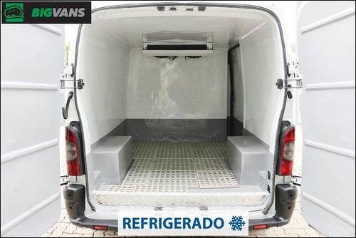 master 2008 l1h1 furgão refrigerado -5º graus branco (4346)