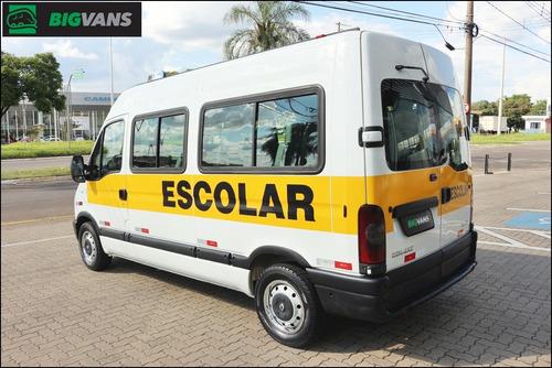 master 2008 l2h2 minibus 16 passageiros branca (7907)