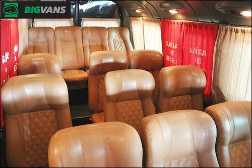 master 2017 l3h2 executiva elite 16 passageiros preta (5155)